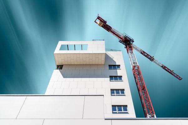 Les différentes étapes de la construction d'un immeuble.